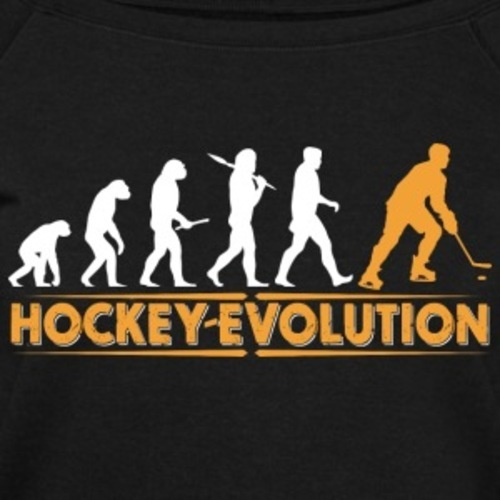 Hockey-evolution-orangeweiss-hoodies-sweatshirts-women-s-boat-neck-long-sleeve-top