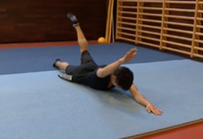 Exercici  per enfortir l'esquena