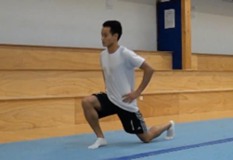 Exercici per enfortir les cames