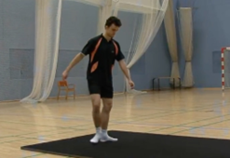 Ankle workout and mobility