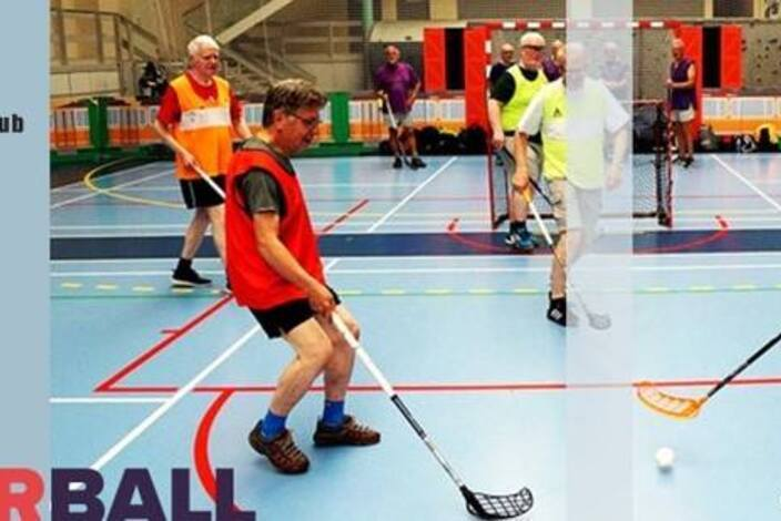 Motionsfloorball