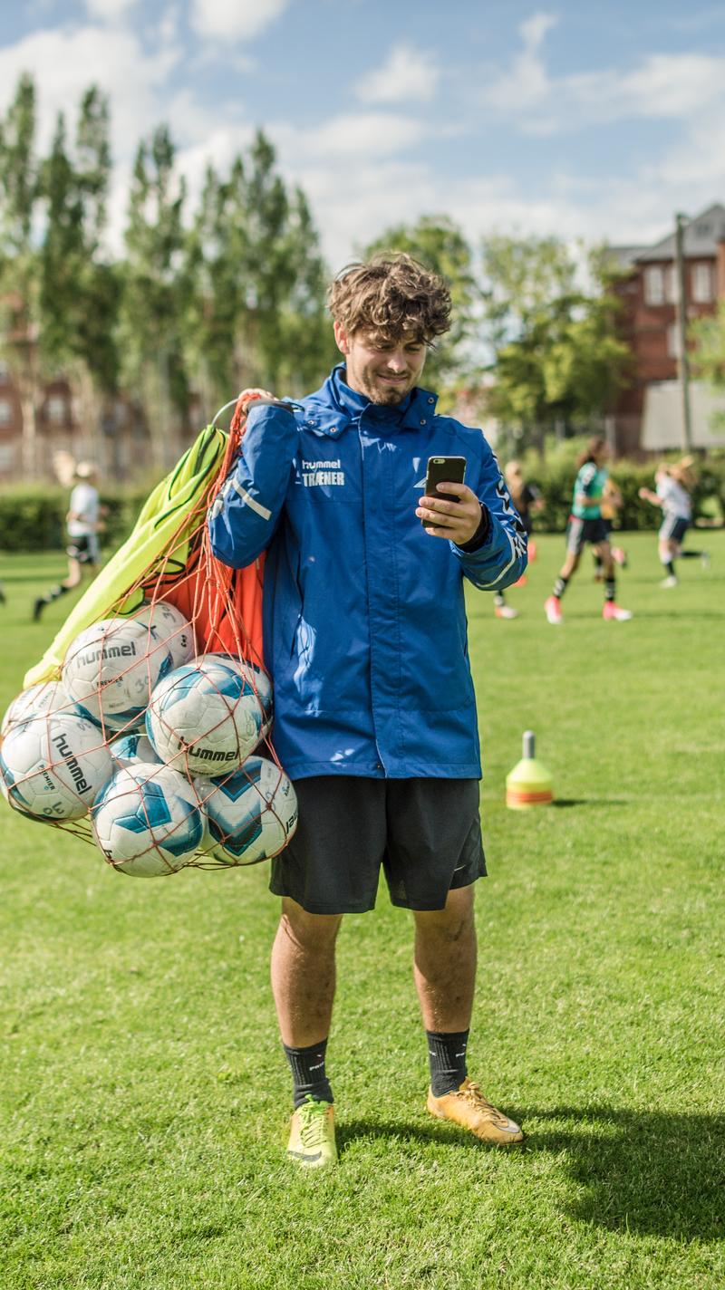 Fodbold - online holdstyring