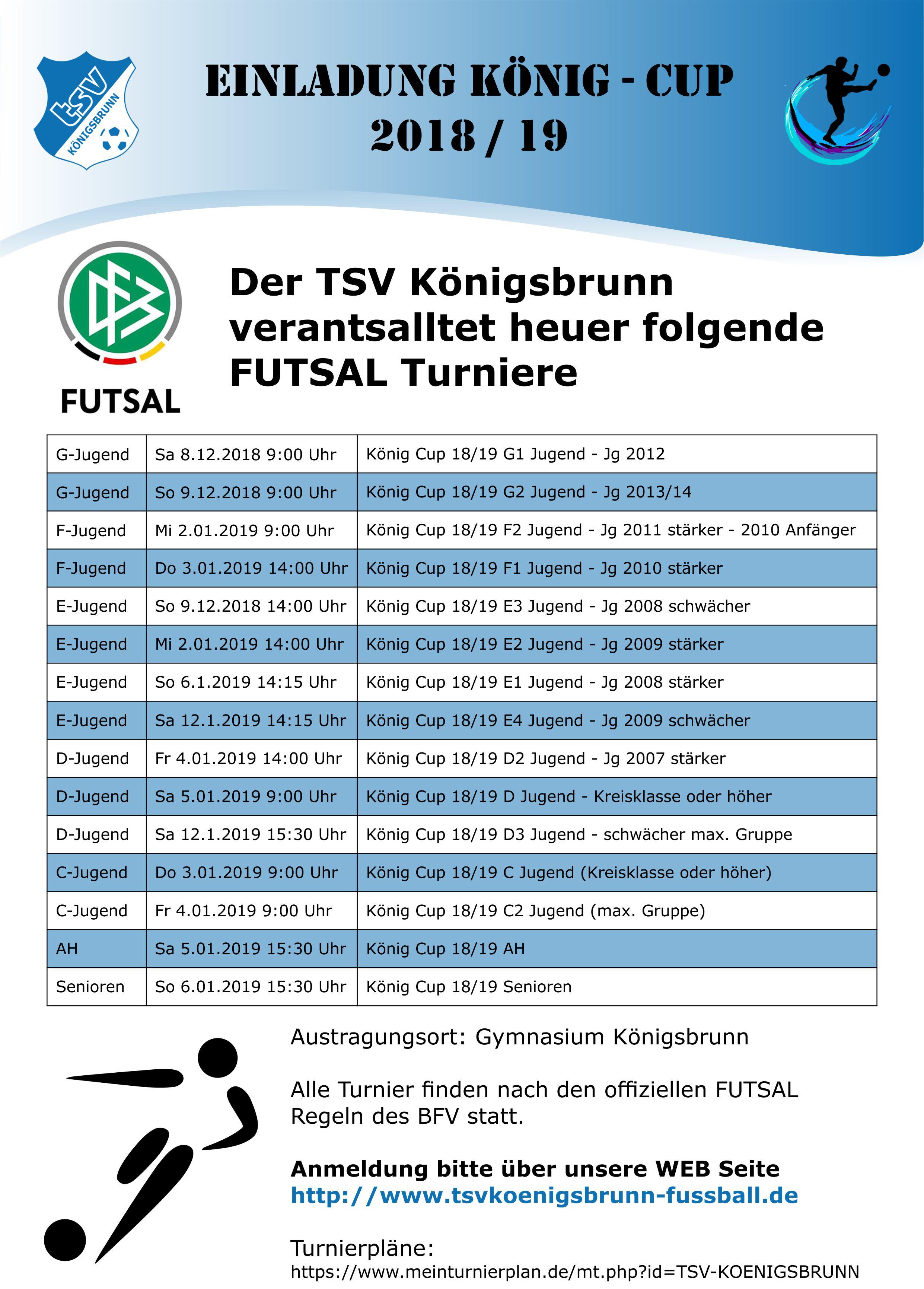 Fussball Tsv Konigsbrunn Ev