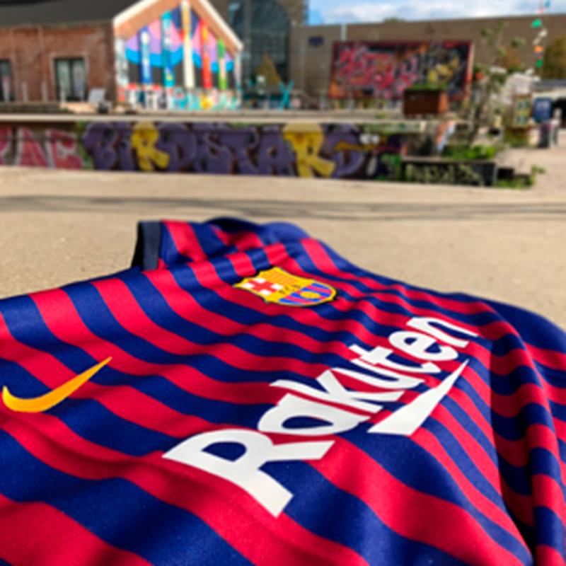 barcelona trøje