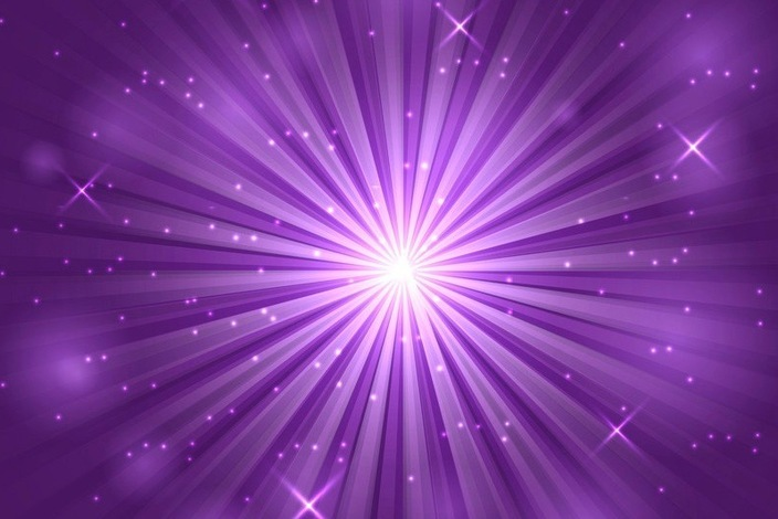 Bright-flash-and-explosion-on-purple-background-vector-23397953