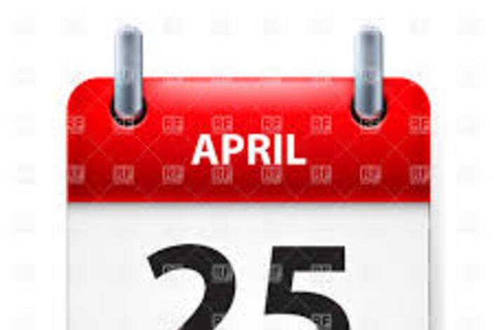 25.april