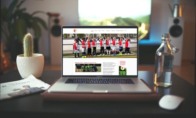 Hjemmeside til forening