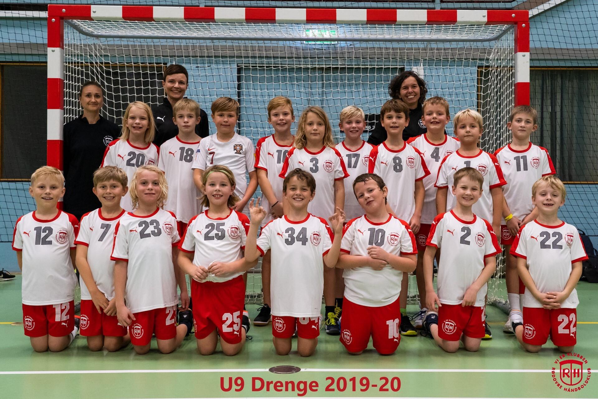 U9 Drenge 2019-20