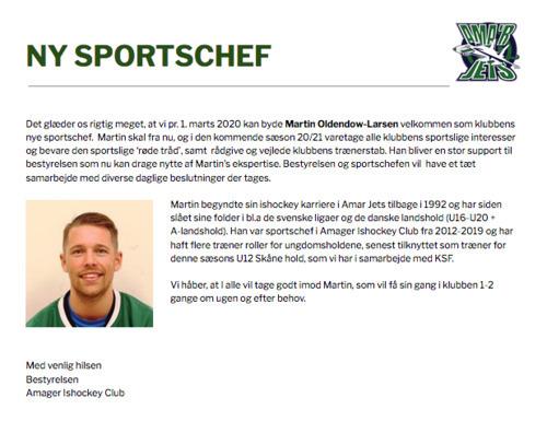 Sportschef