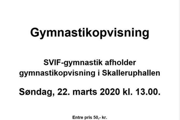 Gymnastikopvisning