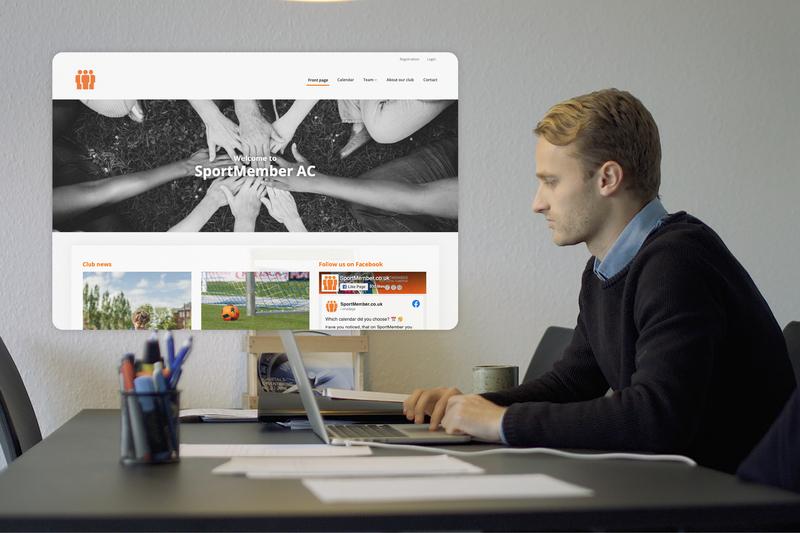 Sports Club Website Builder
