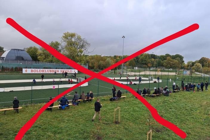 Fodboldforbudt