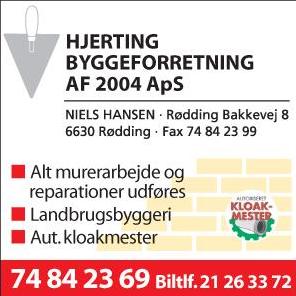 Hjerting-byggeforretning