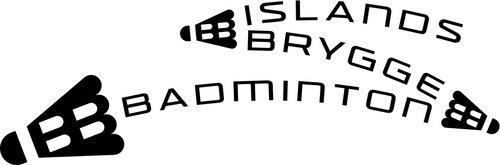 Islandsbryggebadminton_logo_black