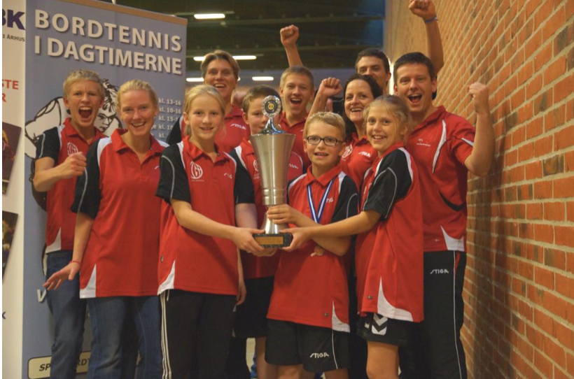 Klubpokal Aarhus Open gik til HGI Hillerød Bordtennisklub