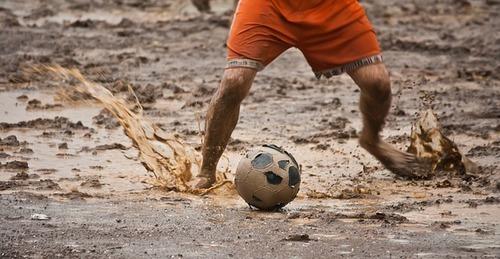 Fussball-matsch